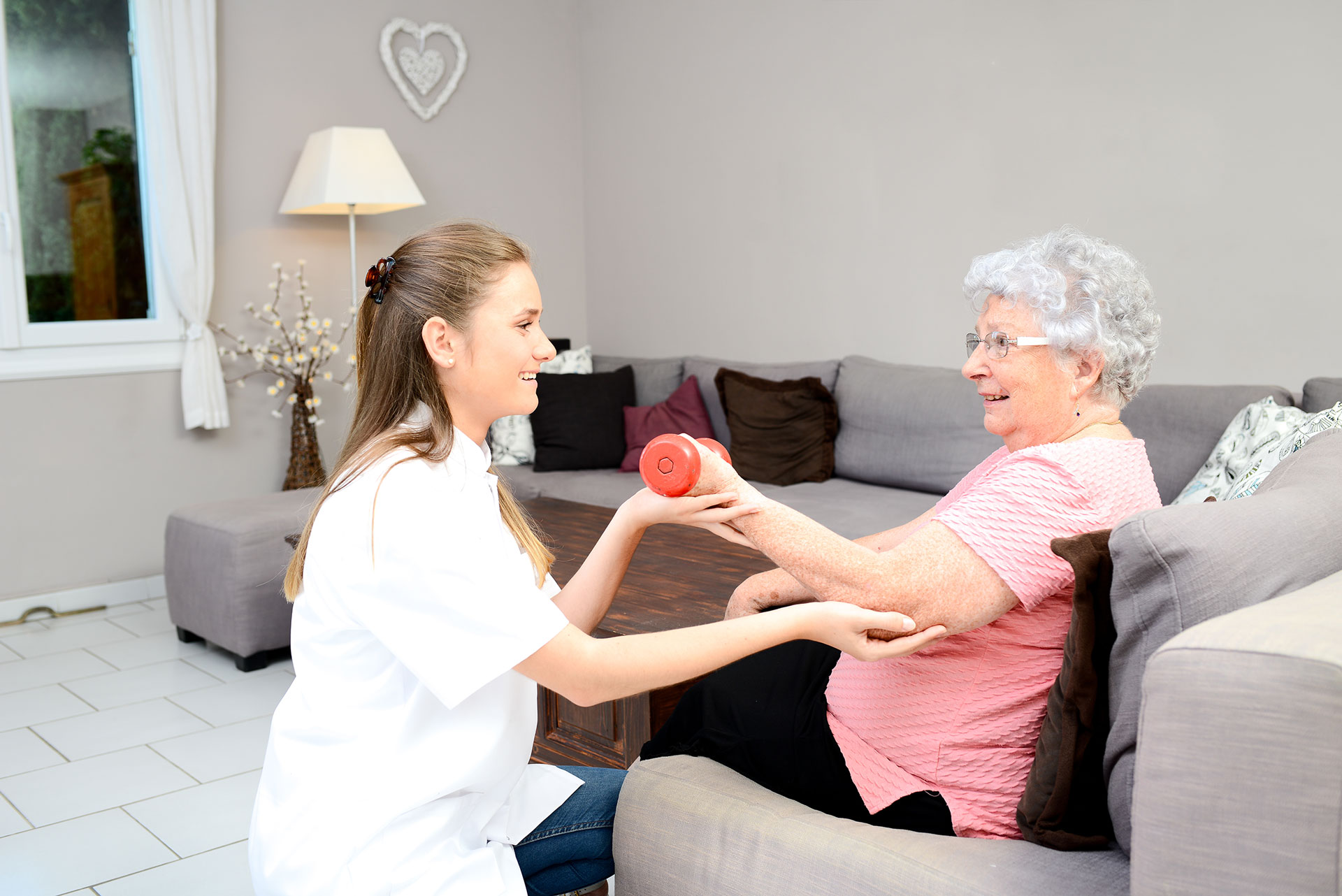Physiotherapy and rehabilitation in the home